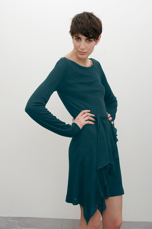 Evangelista Dress in Dark Pacific