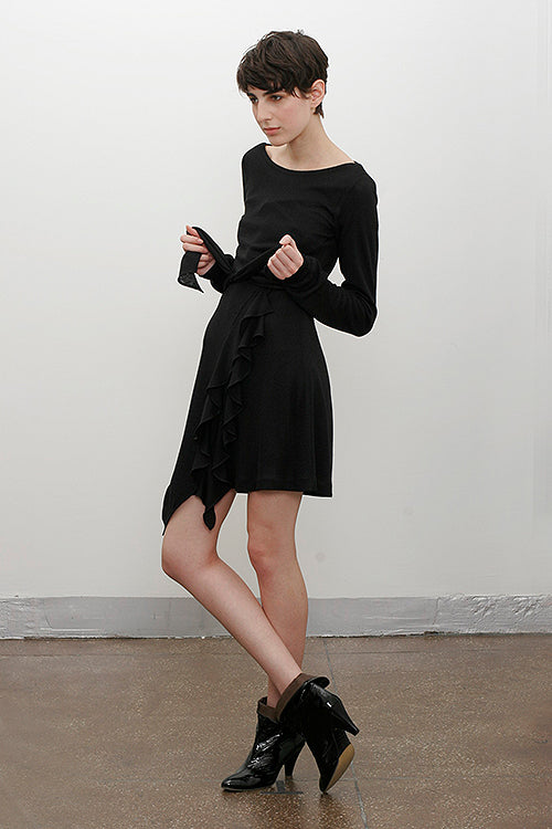 Evangelista Dress in Black