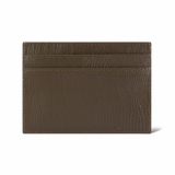 Brown Lizard Leather Cardholder