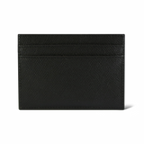Black Pebble-grain Leather Cardholder