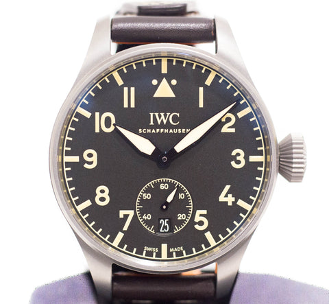 Preowned IWC Big Pilot Heritage 48mm in Titanium Ref: IW5103-01