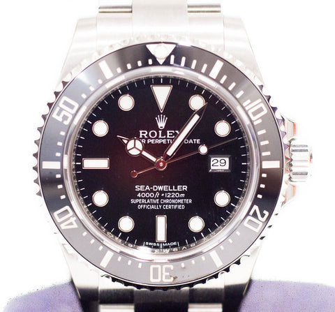 Brand New Rolex Sea Dweller Ceramic 4000 116600