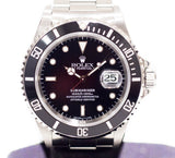 "Preowned Rolex Submariner ""T-Dial"" 16610"
