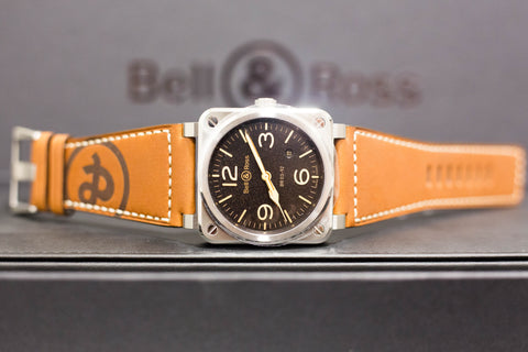 Brand New Bell & Ross Golden Heritage BR03-92