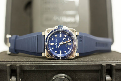 Brand New Bell & Ross Diver Blue Dial BR 03-92
