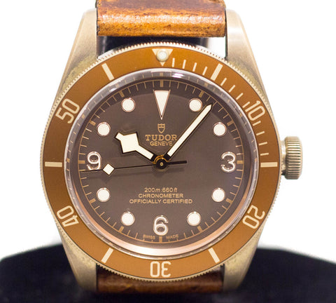 Preowned Tudor Black Bay Bronze Ref: 79250BM