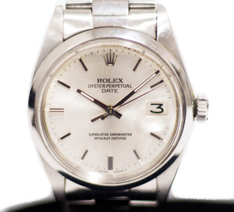 Preowned Rolex Date 1500