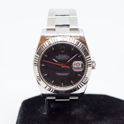 Preowned Rolex Datejust Turn-O-Graph 116264