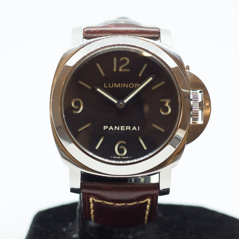 Preowned Panerai Luminor Base PAM 112 I