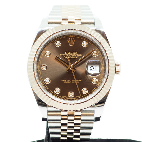 Like New Rolex Datejust 41mm Everose Ref. 126331