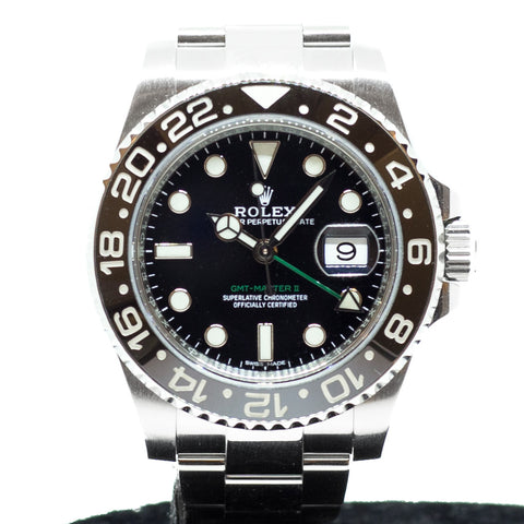 Like New Rolex GMT Master II Ceramic 116710LN