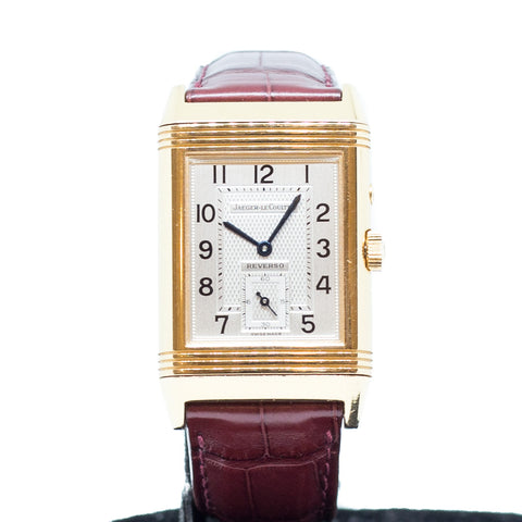 PreOwned Jaeger-LeCoultre Reverse Duo Face Night & Day Yellow Gold Ref: 270.2.54