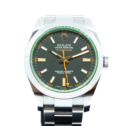 Preowned Rolex Oyster Perpetual Milgauss Ref: 116400GV