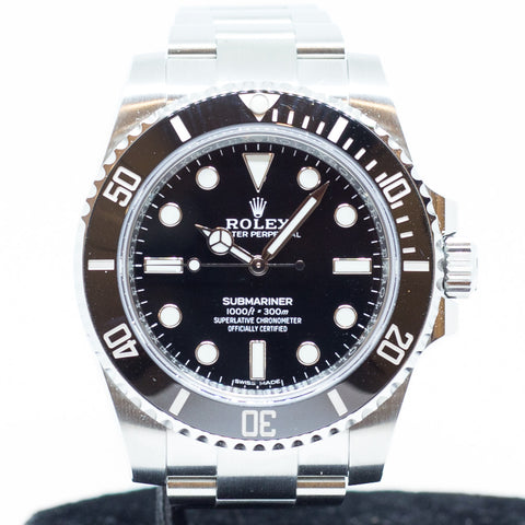 Like New Rolex Submariner Ceramic in Stainless Steel Ref: 114060