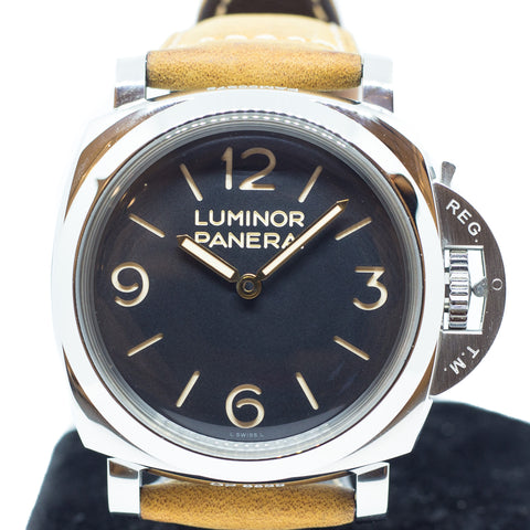 Preowned Panerai Luminor 1950 Black Dial Ref: PAM00372