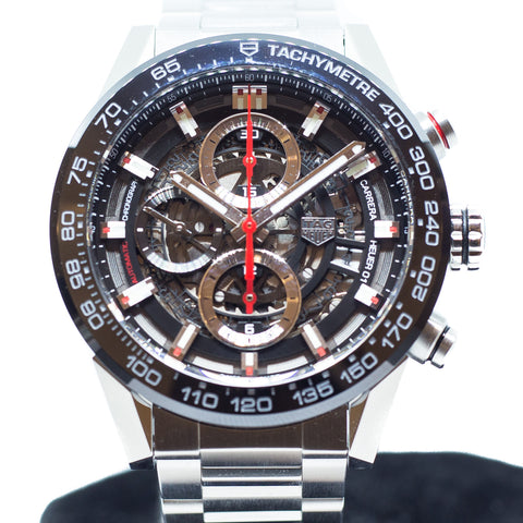 Like New Tag Heuer Carrera Heuer 01 Ref: CAR201V.BA0714