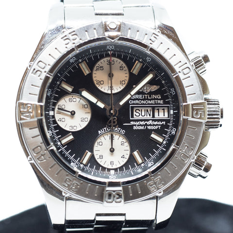 Preowned Breitling SuperOcean Chronograph Ref: A13340