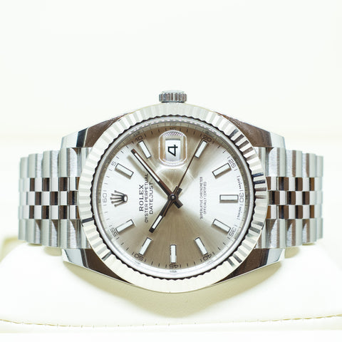 Brand New Rolex Oyster Perpetual Datejust 41 Ref: 126334