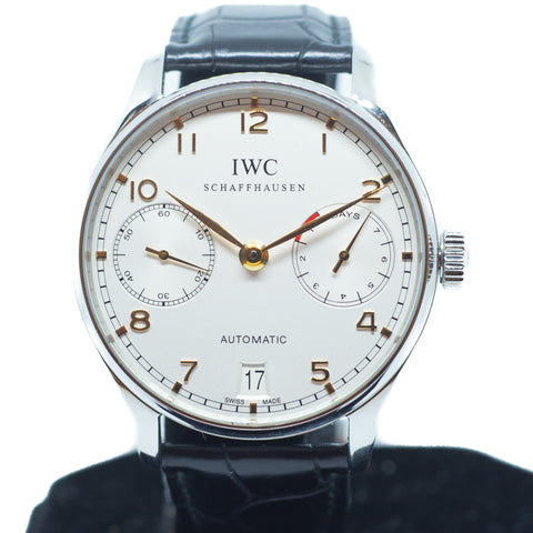 Like New IWC Portuguese 7 Days Power Reserve Ref: IW500114