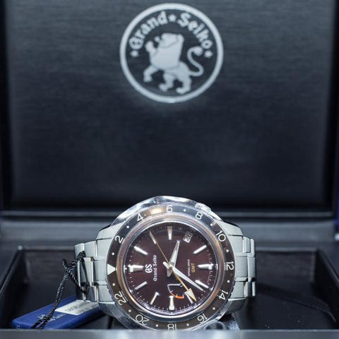 Brand New Grand Seiko Sports Spring Drive GMT Ref: SBGE245G