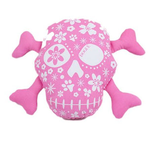 Dogue Skull & Dog Bones Squeaky Toy