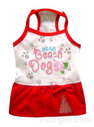 Dog Bless You Summer Beach Dress