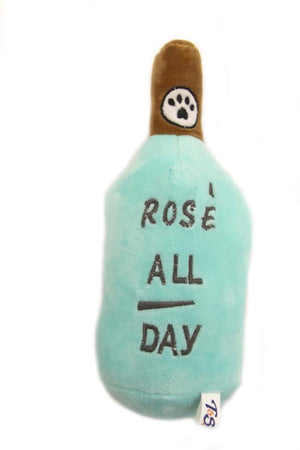 T&S Champagne Rose Dog Toy