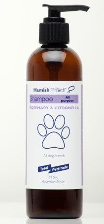 Hamish McBeth All Natural Shampoo - General Purpose Rosemary and Citronella Fragrance