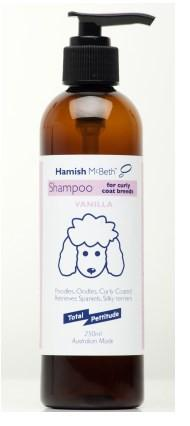 Hamish McBeth All Natural Shampoo - Oodles & Curly Coats - Vanilla Fragrance