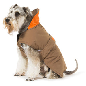Hamish McBeth All Weather Waterproof Dog Coat - Brown