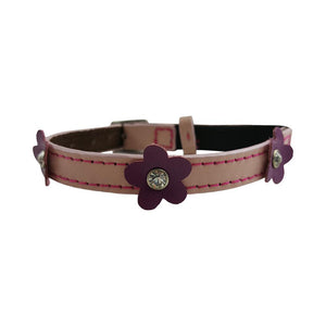 Hamish McBeth Cat Collar - Lucy Pink Diamante