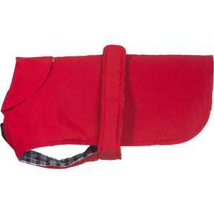 Hamish McBeth All Weather Waterproof Dog Coat - Red