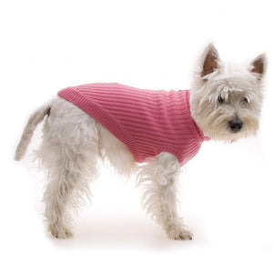 Hamish McBeth Pink Pure Wool Dog Jumper