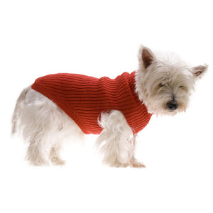 Hamish McBeth Red Pure Wool Dog Jumper