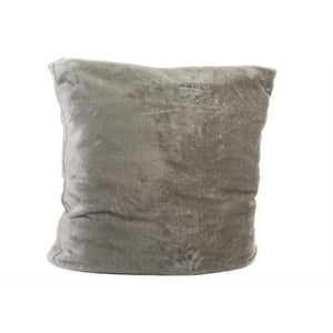 Miyow & Barkley Snuggle Pod Cat and Dog Bed - Elephant Grey Faux Fur