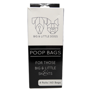 Big & Little Dogs -  Dog Poop Bags