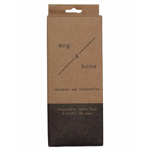 Mog & Bone Grey Dog Degradable Waste Bags