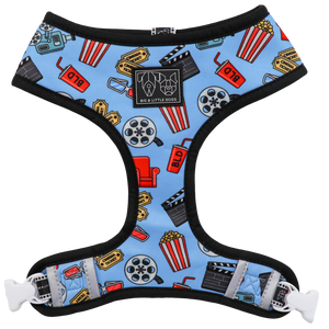 Big & Little Dogs Reversible Dog Harness - Lights, Camera, Action!