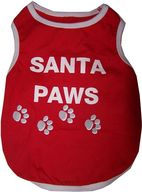 Dog Bless You - Santa Paws Singlet