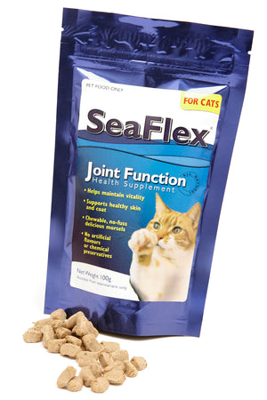 Seaflex Joint Function Supplement Treats for Cats 100g