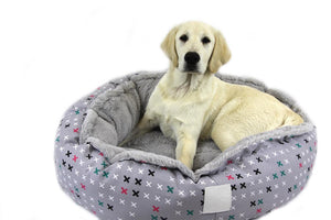 T&S Snug Pet Bed - Designer Cross