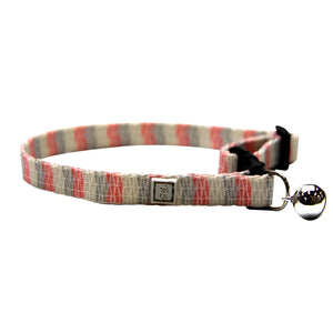 T&S Safety Breakaway Cat Collar - Pearl Blush