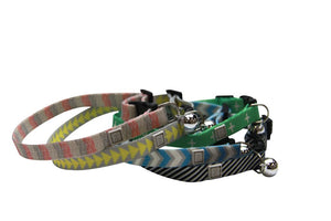 T&S Safety Breakaway Cat Collar - Stormy Stripe