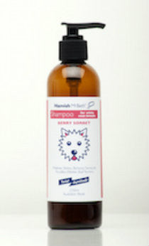 Hamish McBeth All Natural Shampoo - Westies & White Coats  - Berry Fragrance