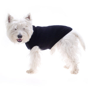 Hamish McBeth Black Pure Wool Dog Jumper