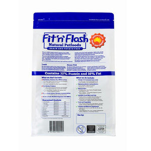 Fit'n'Flash Natural Dry Dog Food  - Lamb & Ocean Fish (Grain & Potato Free) 2kg