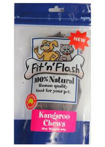 Fit'N'Flash Kangaroo Chews 120g