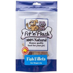 Fit'N'Flash Fish Fillet Treats - 50g
