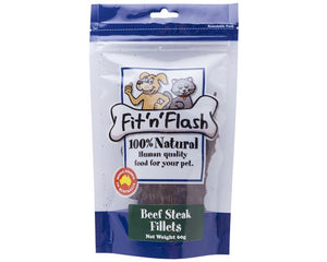 Fit'N'Flash Beef Steak Fillet Treats