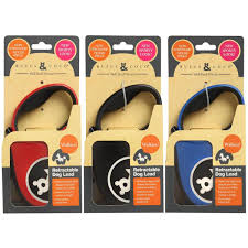 Rufus & Coco Retractable Dog Lead
